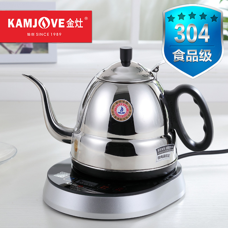 Kamjove/gold stove TP-700 304 stainless steel kettle electric induction electric teapot kettle