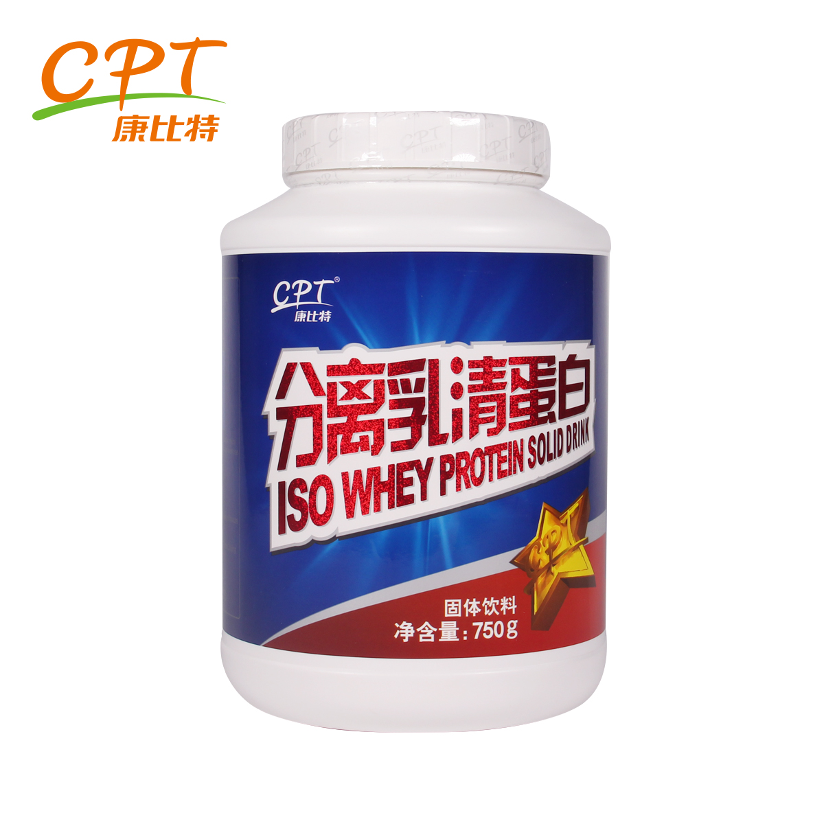 Kang bit whey protein isolate protein powder protein powder fitness by jianjining powder whey protein powder 750g