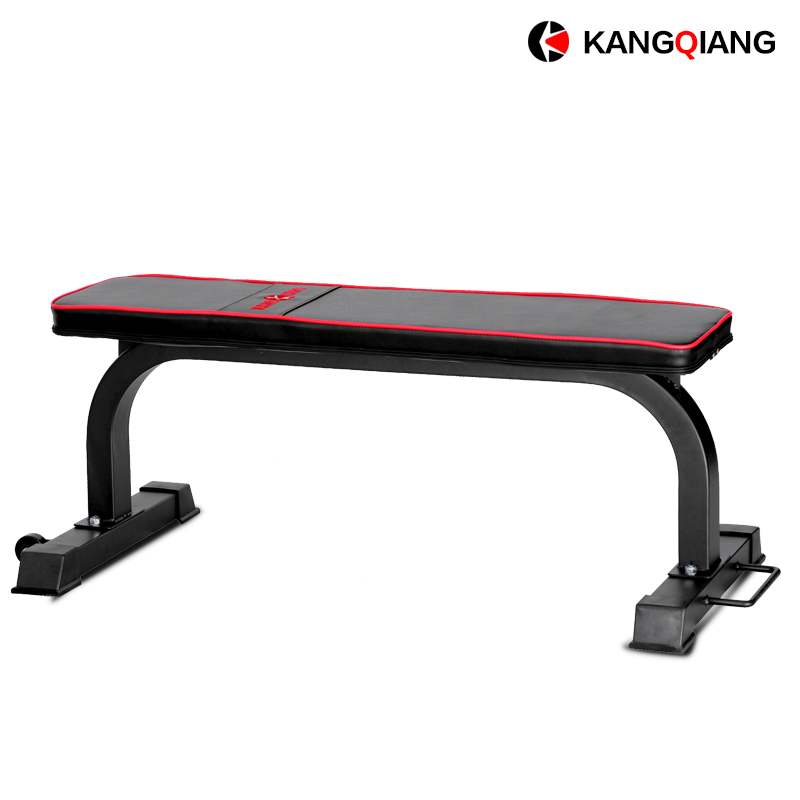 Kangqiang fitness training 3021 multifunction flat bench dumbbell bench press flat bench stool bearing professional commercial large birds