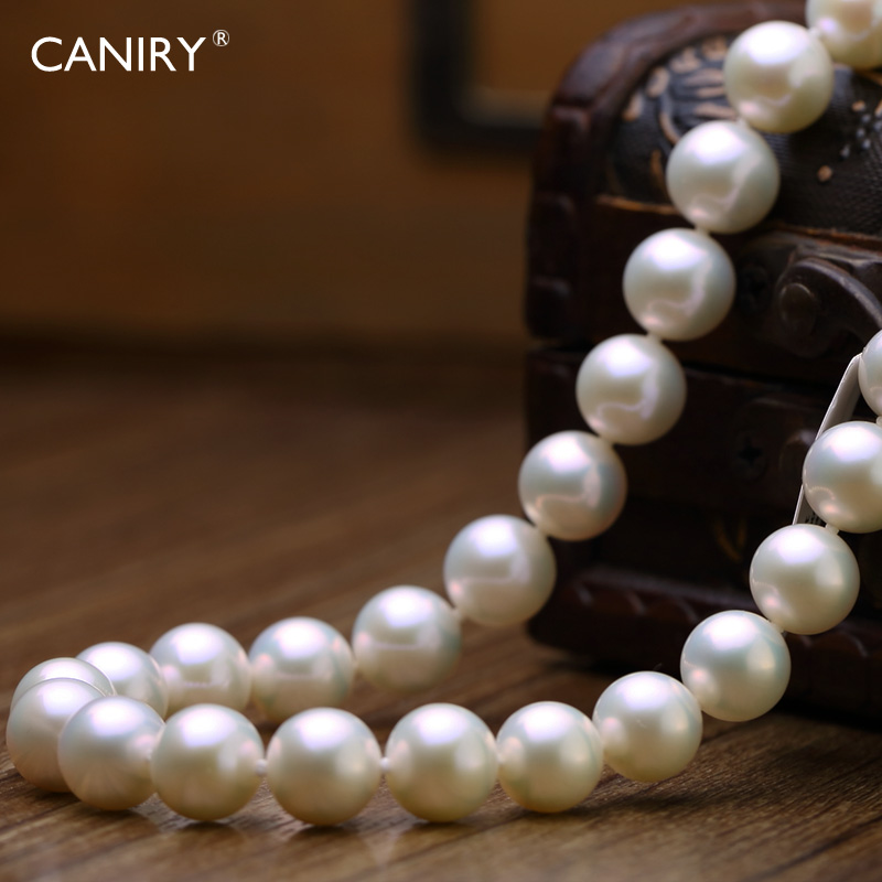 Kani rui pierre CANIRY5-6 basic flawless perfect circle pearl necklace jewelry grade quality gifts