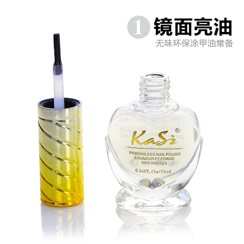 Kasi tasteless green nail polish cuted tissue taked equipment scratch standing: brightening light oil