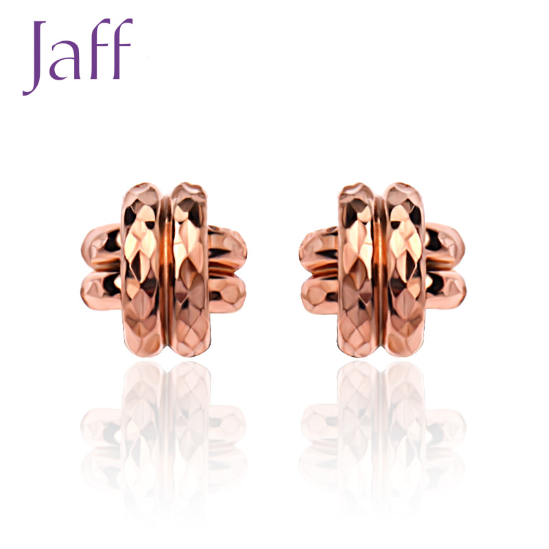 Katsuo jaff KED027 k gold earrings female models earrings jewelry earrings series national mail