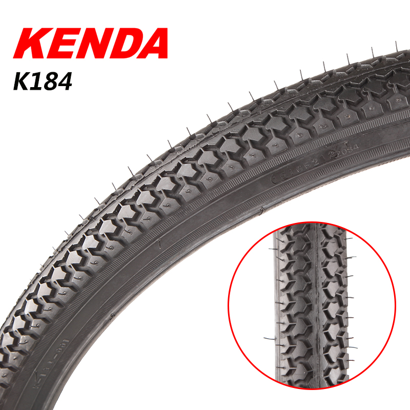 Kenda k184 tire k19224 ms. inch 24 26 27*1.5 1-3/8 vintage bicycle tire