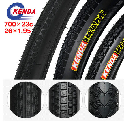 Kenda/kenda bicycle tire mountain bike tire road bike tire 23c dead fly 70 0 26 1.95