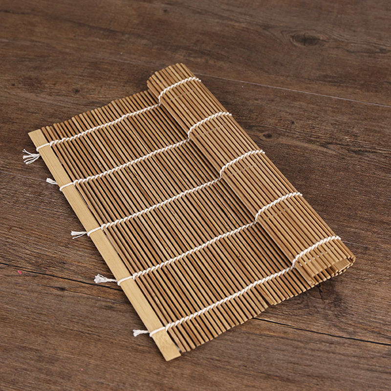 Kens natural bamboo sushi rolling sushi kimbap convenient tableware carbonized bamboo sushi roll sushi curtain diy