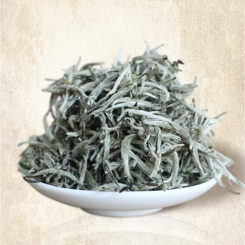 King ya tea silver needle tea baihaoyinzhen baihaoyinzhen fuding white tea authentic new tea tea 2016