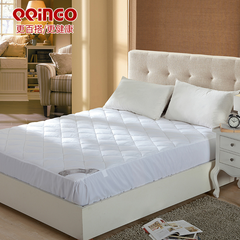 Kiss buy cotton shu sideyard style thick single double bed mattress pad to protect 1, 1.2, 1.5, 1.8 m bed