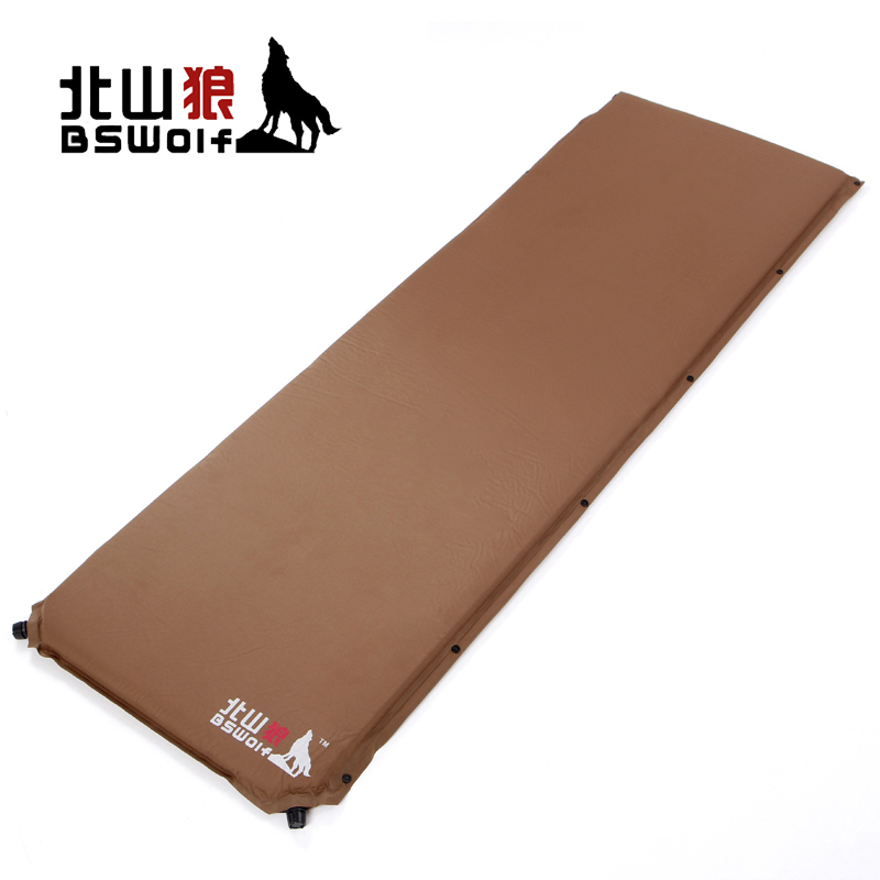Kitayama wolf automatic inflatable cushion outdoor camping tent widening thicker moisture pad 5c m mattress mattress bed sheets people