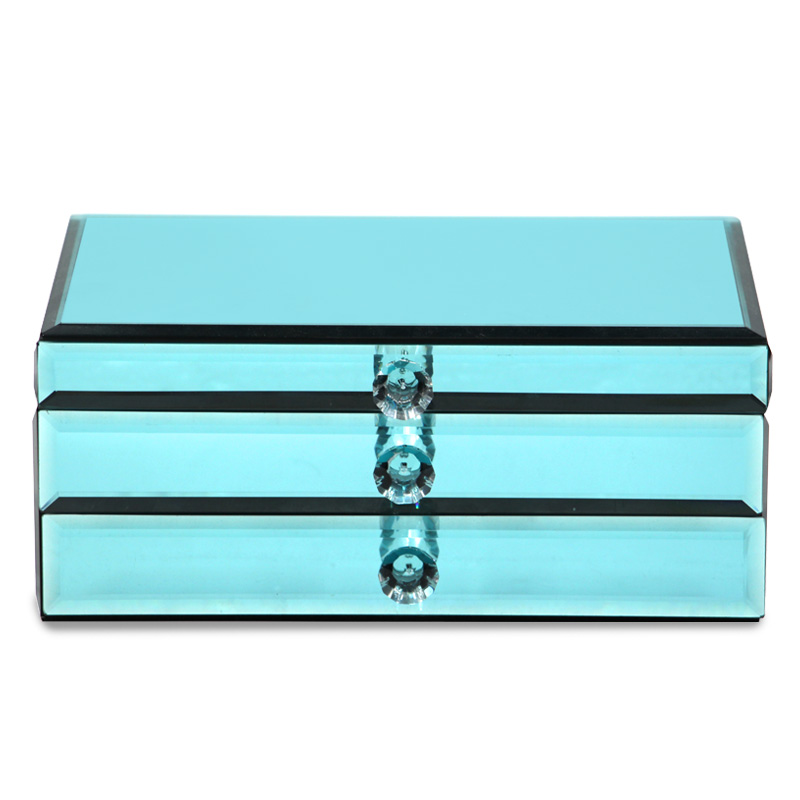 Knight princess mirror glass jewelry box jewelry box upscale jewelry box jewelry boxes korean jewelry box jewelry storage box