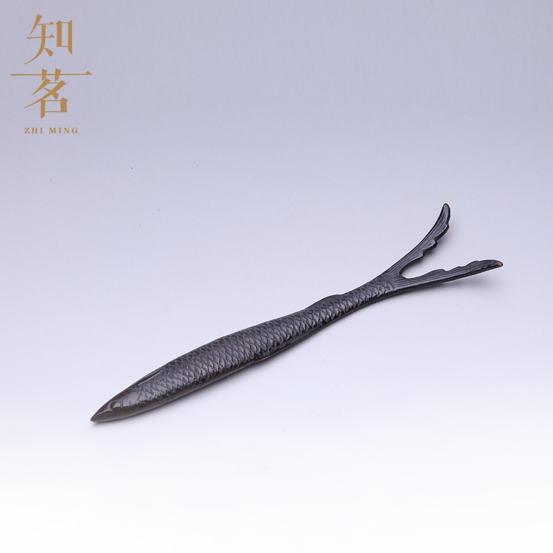 Know ming boutique fish pot iron pot fork iron pot lid fork fork handmade japanese origin accessories specials