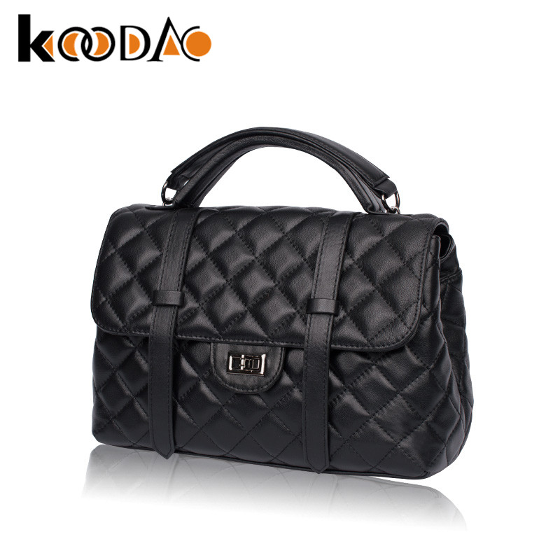 Koodao 2016 spring new custom handbags fashion handbags shoulder bag big bag tide wild generous