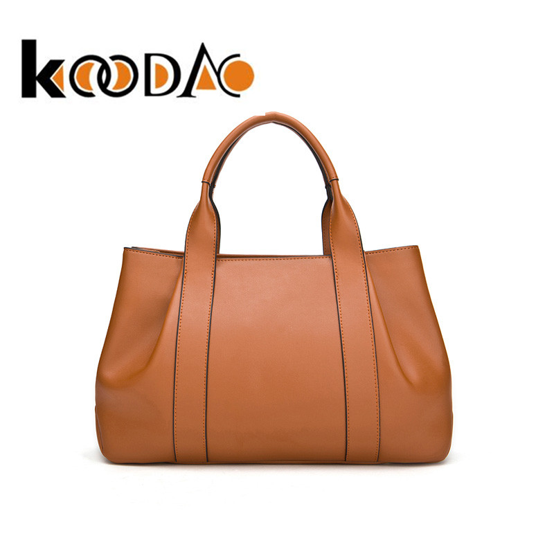 Koodao 2016 spring new handbag large bag ladies handbag shoulder bag retro bag large capacity roolls d
