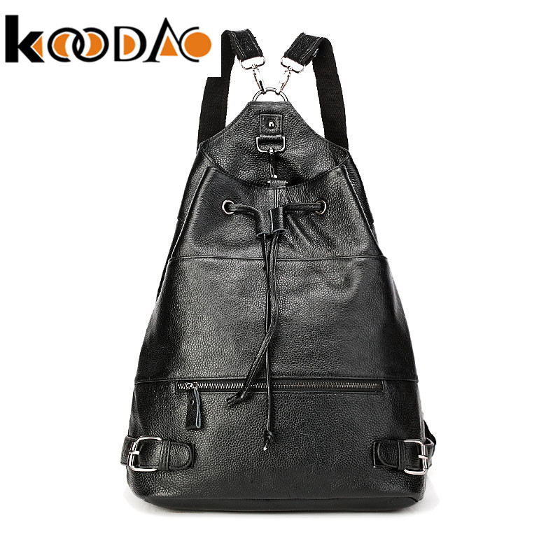 KooDao2016 casual shoulder bag female korean tidal backpack schoolbag college wind travel bag korean female bag large capacity