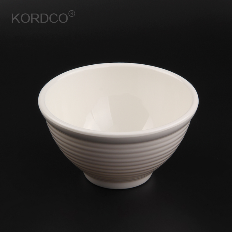 Kordco a5 melamine tableware melamine korean round bowl soup bowl drop resistance insulation porringer creative breakfast bowl