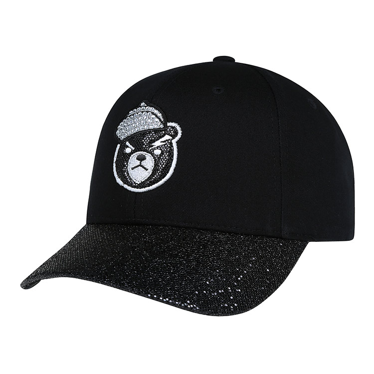 aad2b7f41e8 Get Quotations · Korea-authentic mlb yankee dougy rhinestone sequins cubs  hat ny hat la hat fashion hat