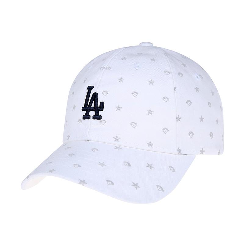 4d1738c186db6c Korea-authentic white cap printing la dodgers baseball cap ny mlb baseball  cap fashion hat