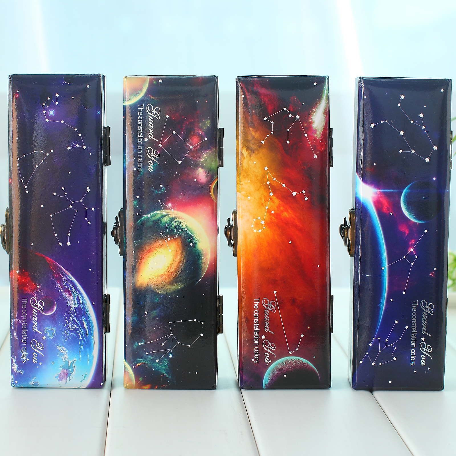 Korea creative students multifunction large capacity pencil pencil box pencil box storage box stationery double