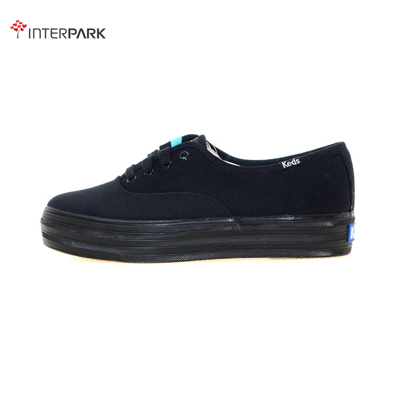 Korea genuine direct mail keds classic black women's casual shoes shoes WF49948