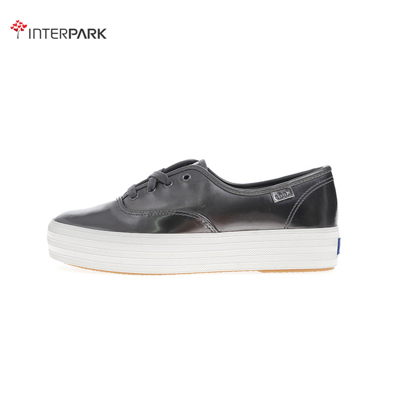Korea genuine direct mail keds WH55764 hornskin triple metal stylish and comfortable shoes casual shoes thick crust