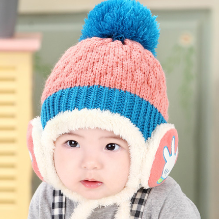 f04e2900e56 Get Quotations · Korean baby hat baby hat plush hat winter hat baby hat  baby beanie hat wool hat