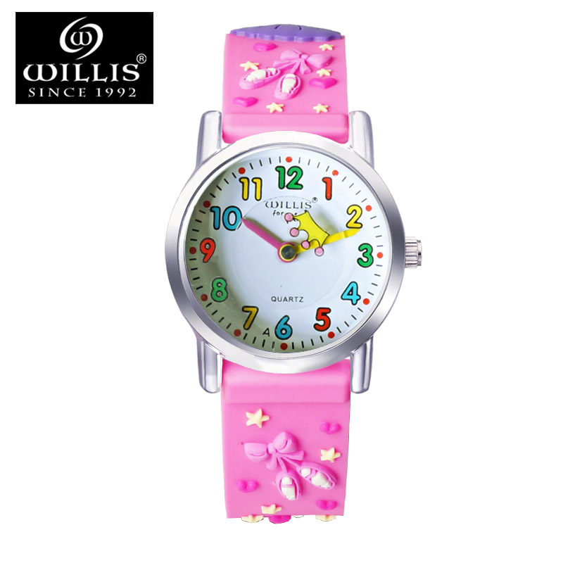Korean girls cute girl child watches waterproof watch female students electronic watch male child cartoon boys and girls table