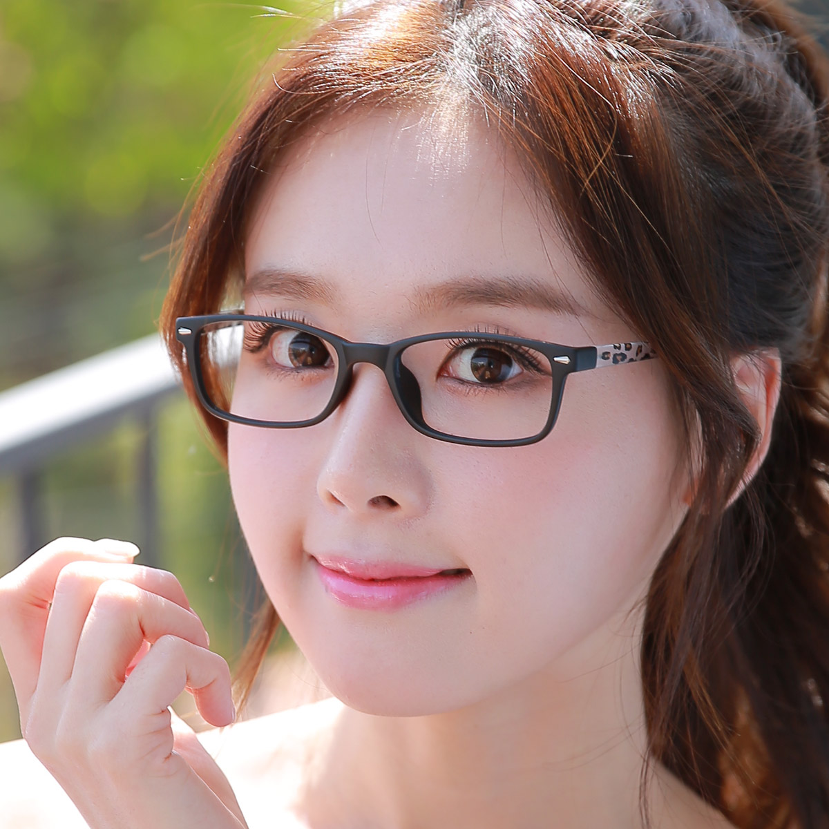 Korean version of the glasses myopia little face female glasses frames myopia female retro glasses frame glasses frame female tide female literary