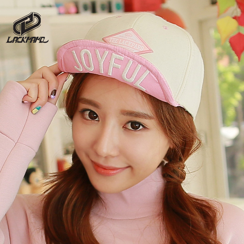 Lackpard spring and autumn female korean version of the son of outdoor leisure cap hip-hop hat wool hat baseball cap tide