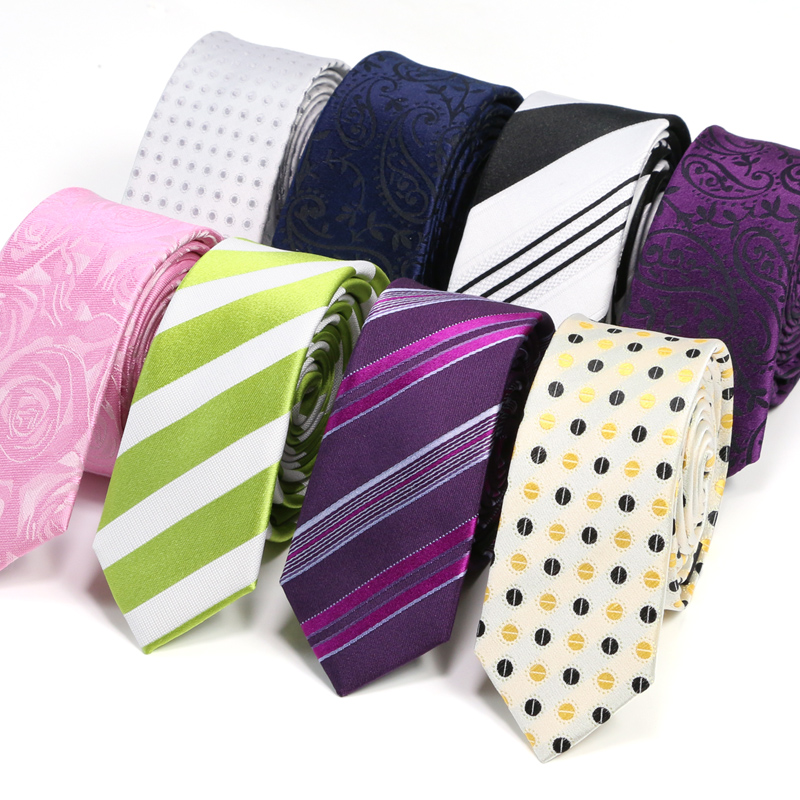 Landisun upscale silk business suits men fashion korean version of the groom narrow silk tie authentic