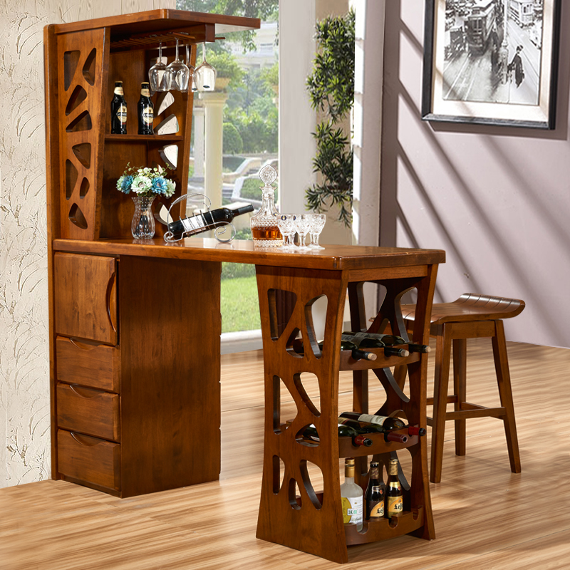 Langin Ranking Chinese Minimalist Living Room Furniture Oak Wood Between The Cabinet Office Wine