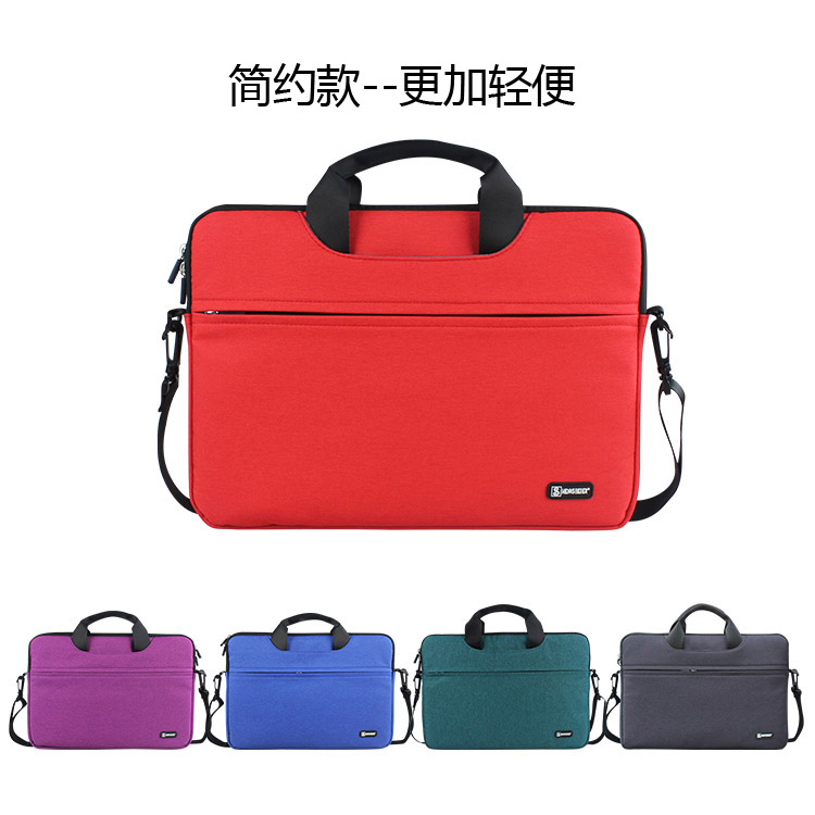 Laptop bag casual shoulder bag waterproof briefcase laptop millet ai r 12.5 inch 13.3 inch