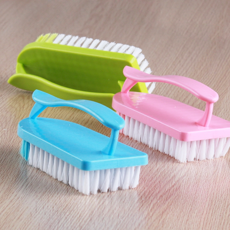 40dc26d24a2 Laundry brush plastic brush to clean the laundry soft bristle brush shoe  brush plate with free