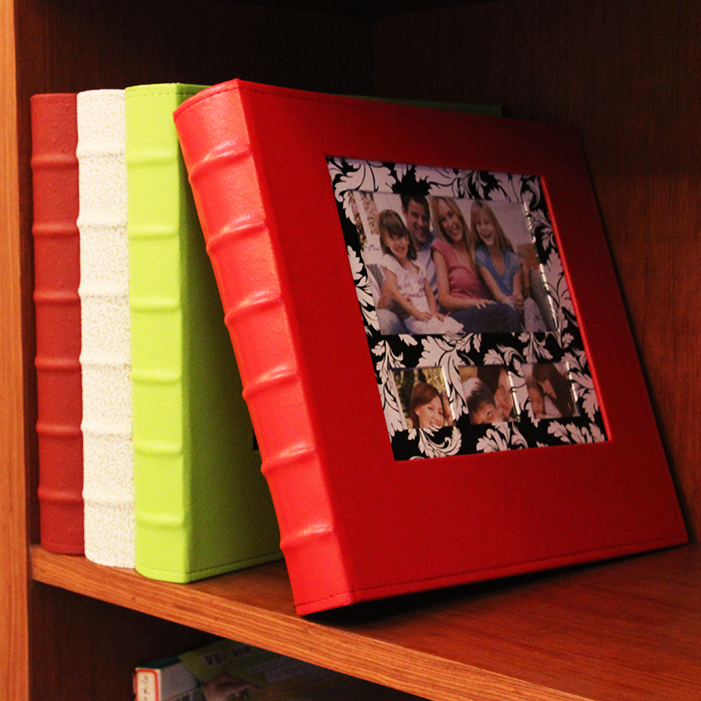 Leather album album interstitials 5 inch 7 inch 720 zhangjia ting into long christmas mix large capacity Gift