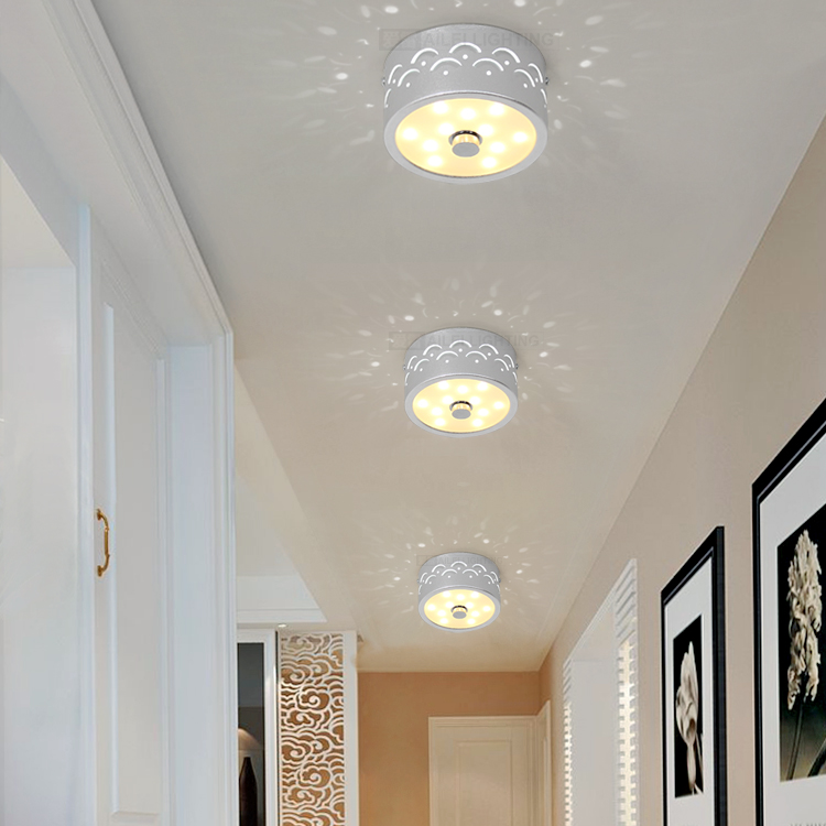 爱雷led circular balcony lights aisle lights corridor entrance foyer lights ceiling creative minimalist lighting 065-B