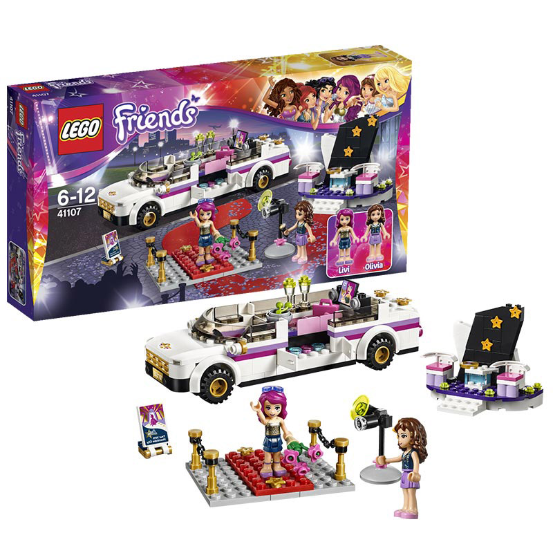Lego friends series 41107 big star luxury car toy building blocks lego friends