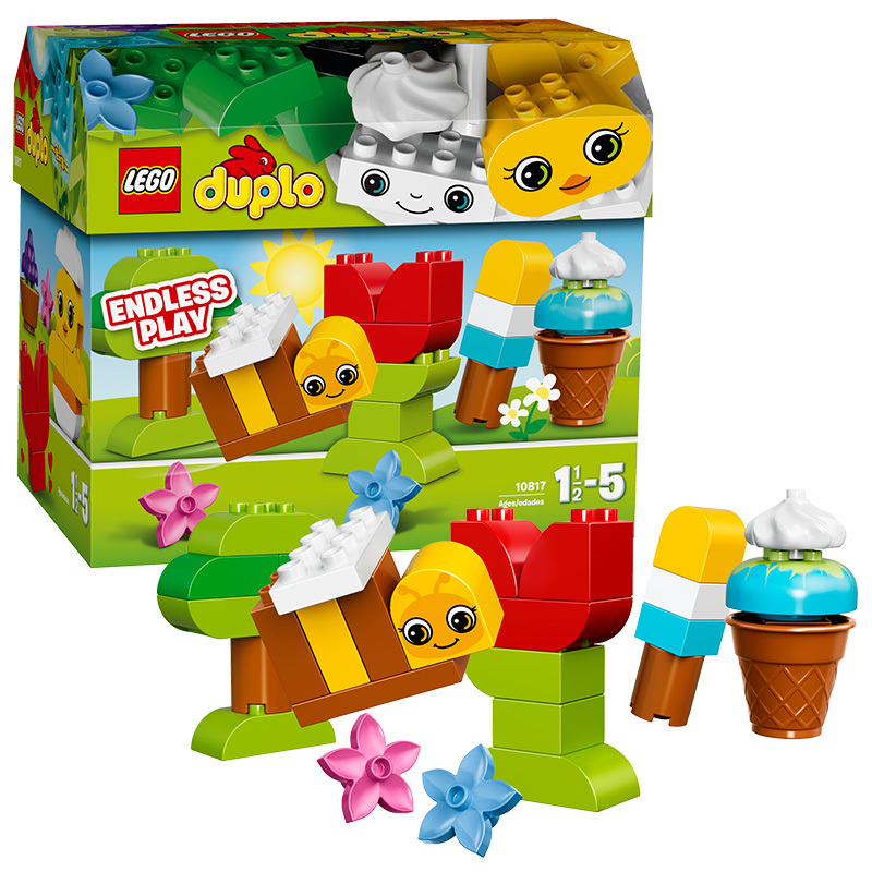 Lego lego depot series of large particles depot creative early childhood educational toys gift box 10817