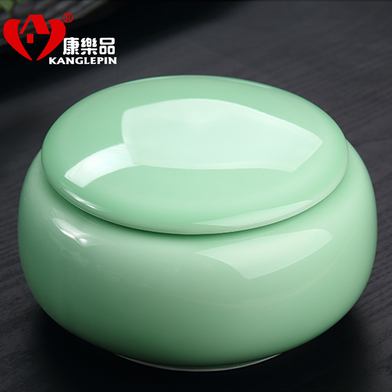 Leisure goods medium ²èò¶ºð packaging celadon celadon ceramic canisters canister canister tea accessories