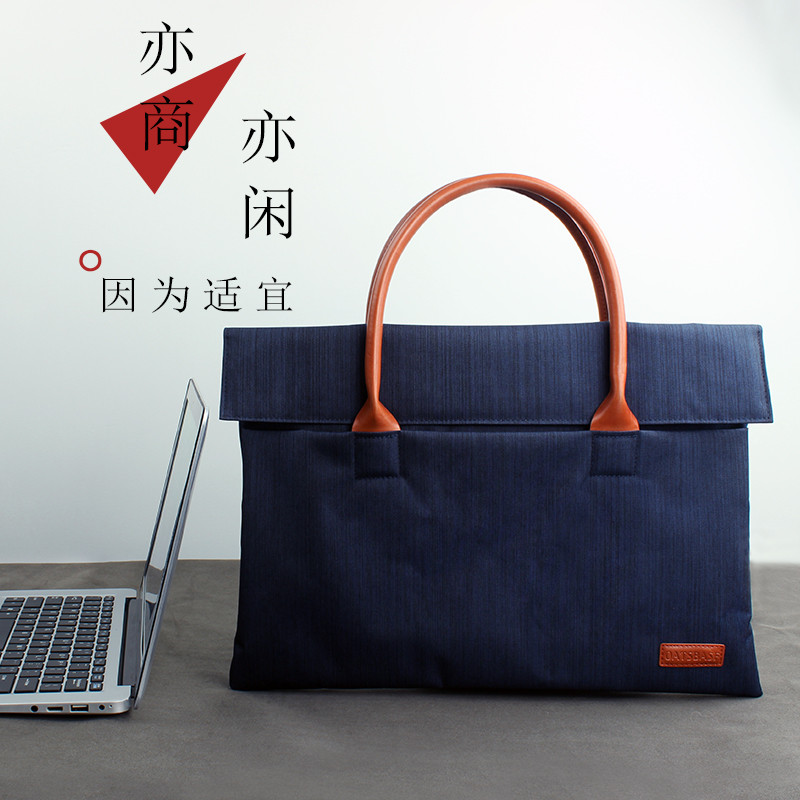 Lenovo 14-inch apple laptop bag 14 inch 13.3/13 inch 15.6 inch macbook air tank bag handbag