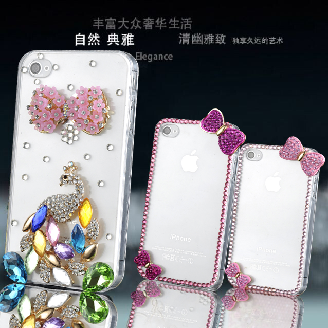 Lenovo a630e a850 a880/a889 mobile phone shell diamond sets k80/K80M/p90 shell new bow
