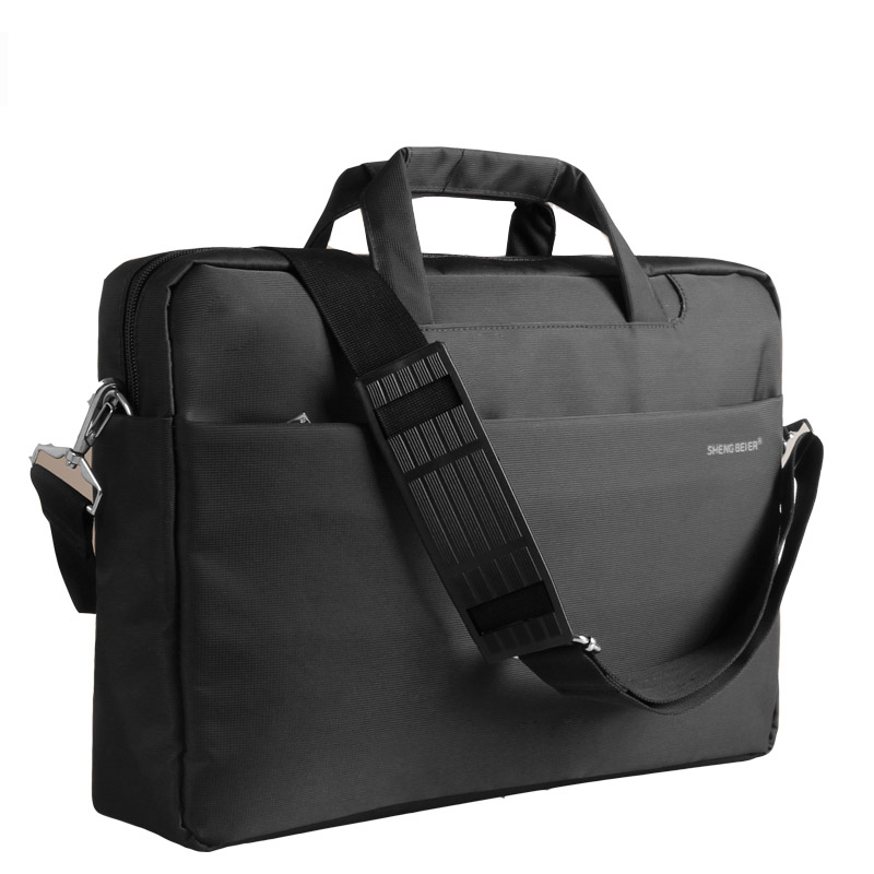 Lenovo thinkpad laptop bag shoulder bag 15.6 black will s5's wowers customized version of the black and silver