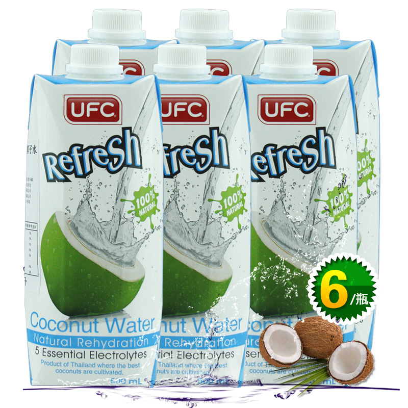 Letter dated May from the production of thailand imported drinks freshly squeezed fruit and vegetable juices carnitas orufc natural pure coconut water 500 ml * 6 bottles