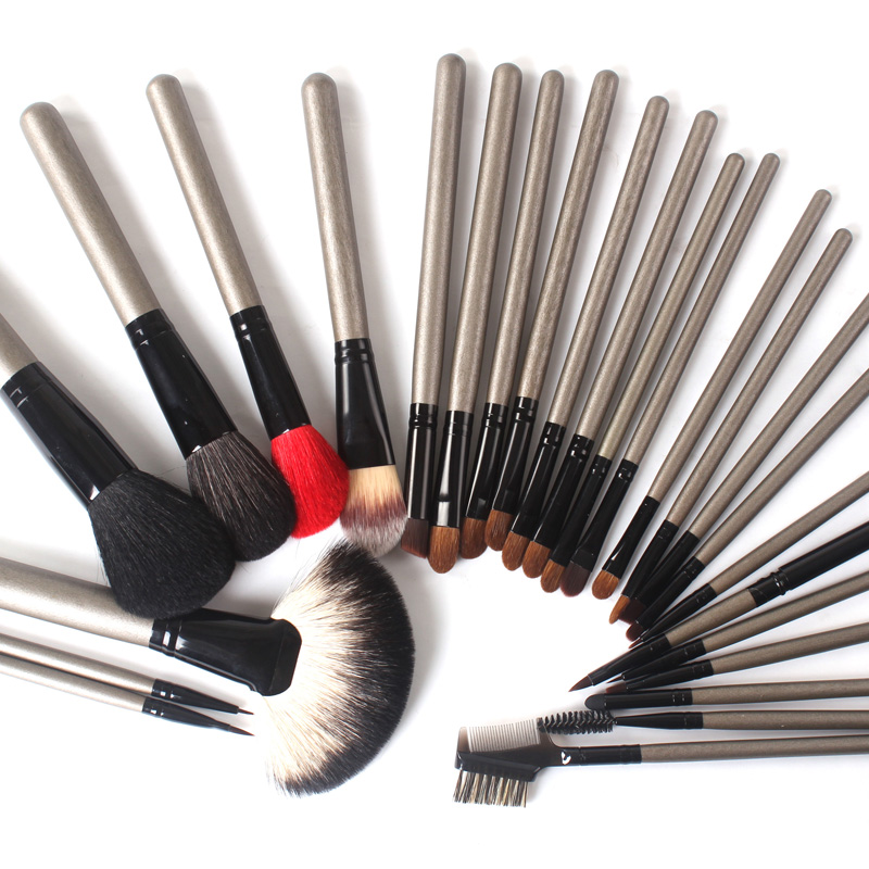 Lexni makeup makeup artist professional makeup brush set brush set 26 animal hair makeup brush foundation brush makeup brush tool
