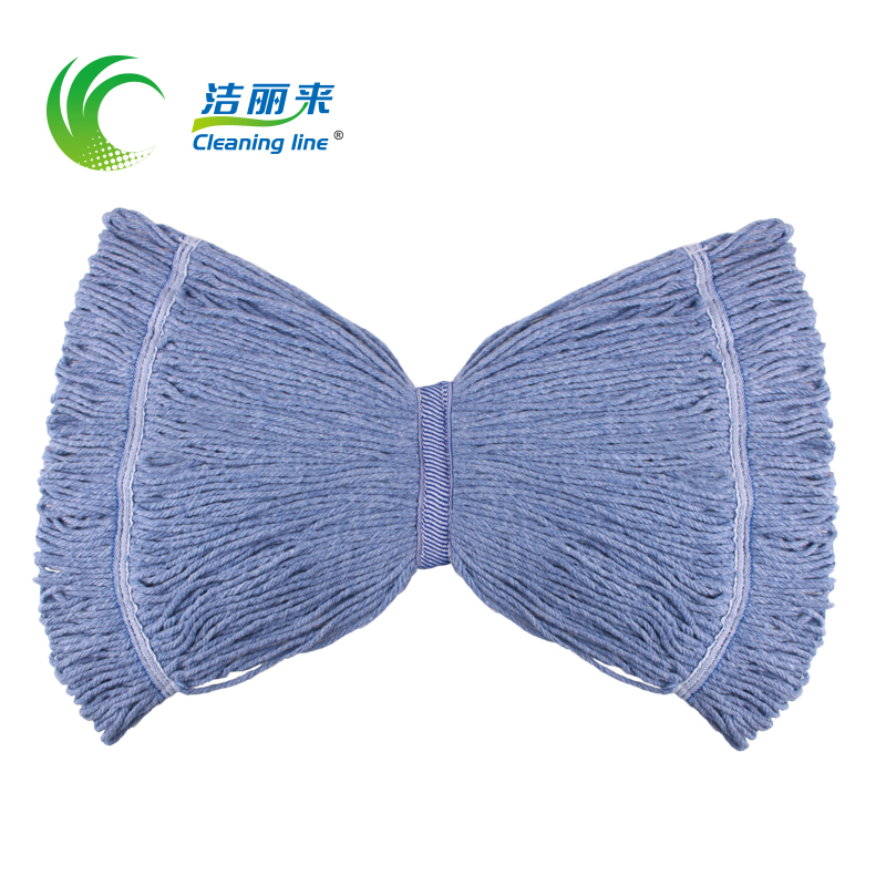 Li jie to upgrade section professional narrowband replace head mop mop tractors wax cotton mop head (2 pack)