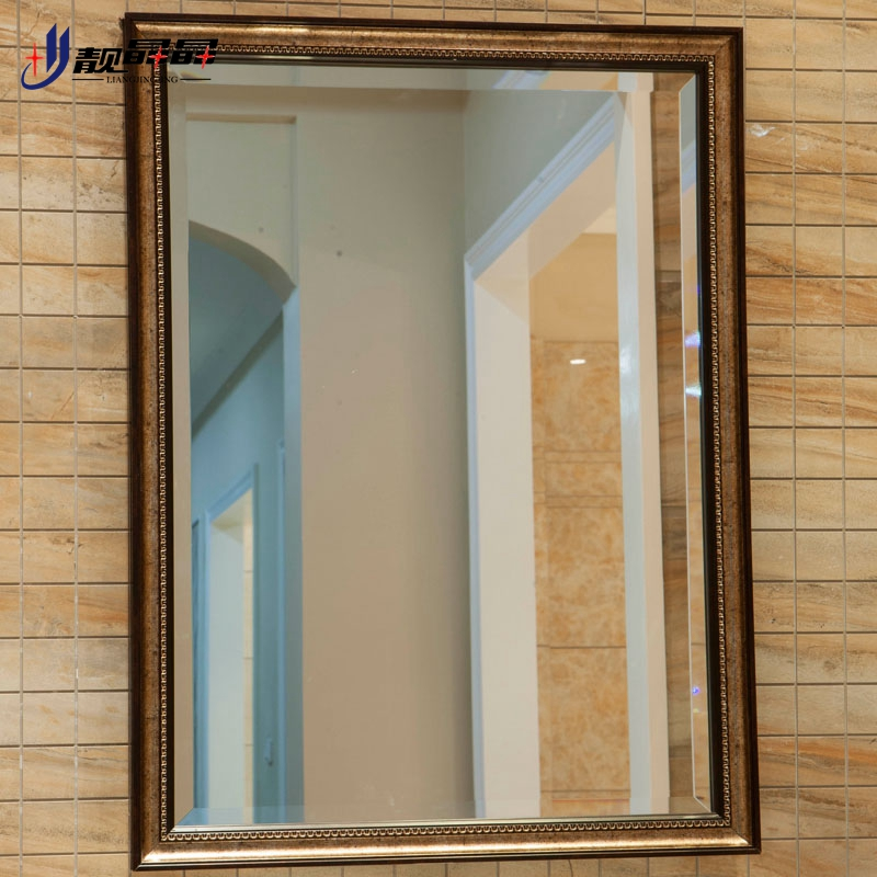 Liang jingjing bathroom mirror bathroom mirror wall mirror frame bathroom mirror bathroom mirror bathroom wall mirror bathroom vanity mirror