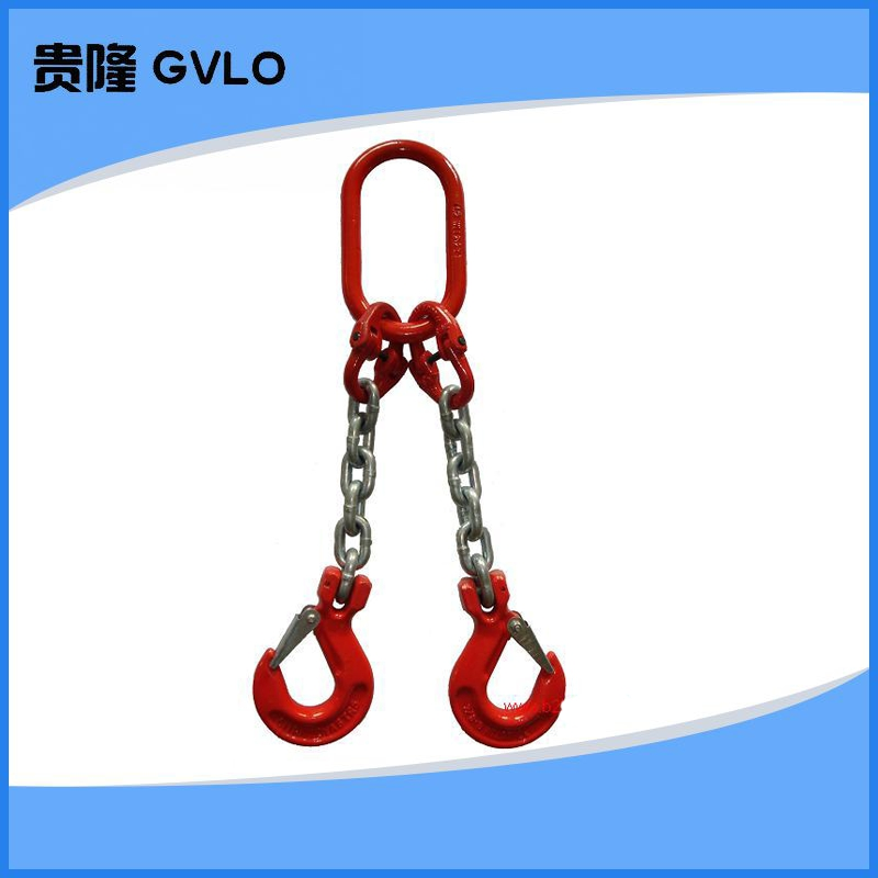 Lifting cargo hook combination 、 riggings high strength hook eye hook chain hanging mold with a dedicated 3 t 2 M red