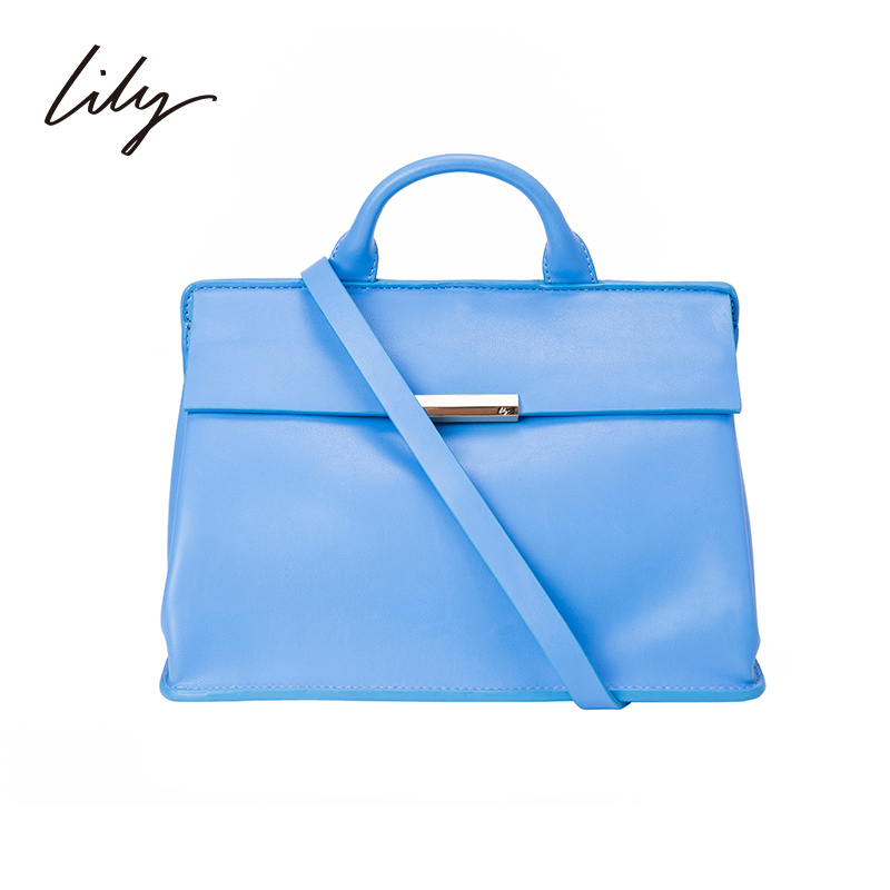Lily 2015 spring new women in europe and america commuter simple and stylish shoulder bag colorful 115110bz406