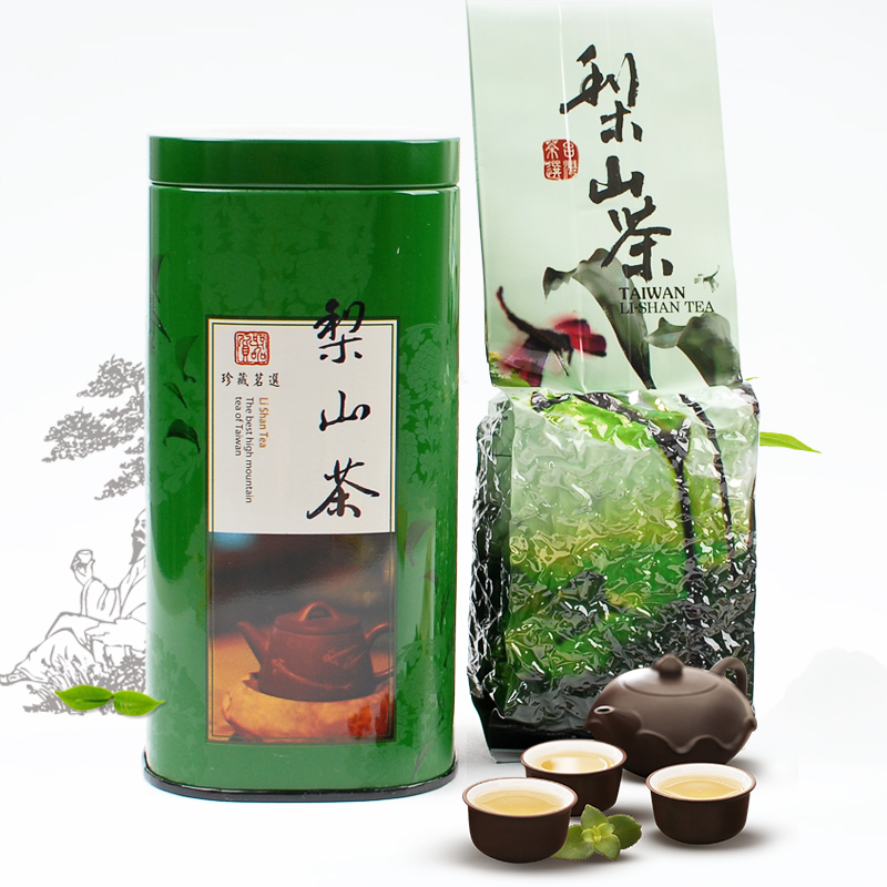 Lishan lishan high cold tea taiwan high mountain tea taiwan oolong tea 150g/cans of organic spring tea