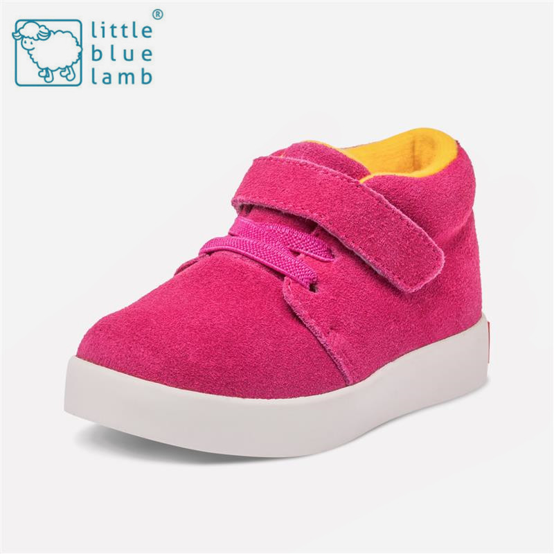 Little blue sheep 2016 autumn and summer children canvas shoes boys and girls leather casual shoes breathable shoes 7123