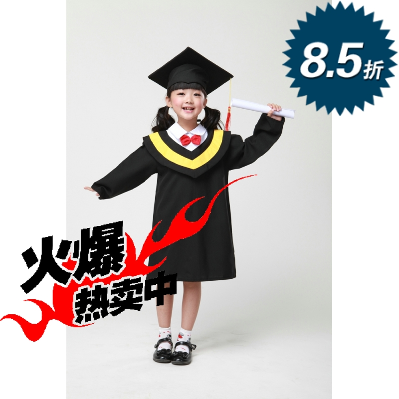 Little doctor kindergarten elementary school graduation photo dr. clothing dr. dr. graduation dress clothes for children clothes children clothes costumes