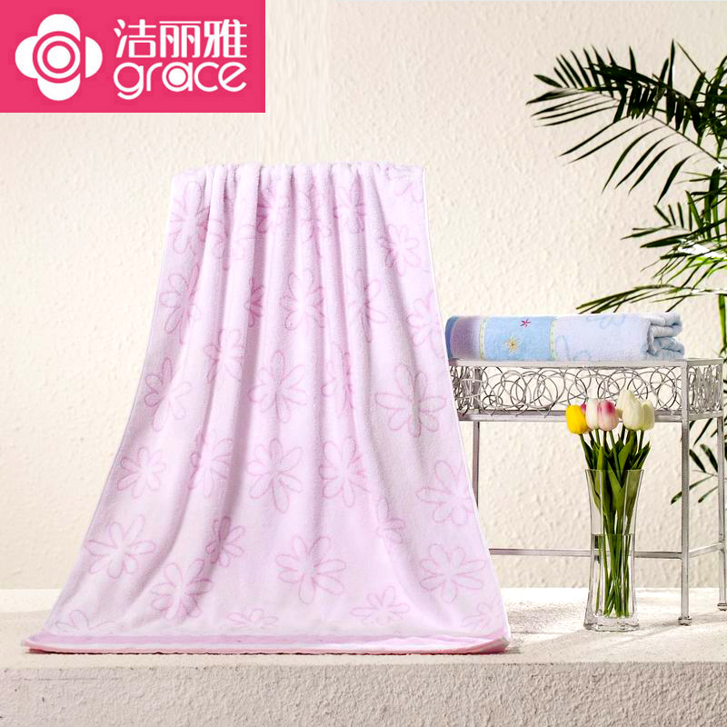 Liya clean cotton towel adult ms. couple models to increase the thick wool jacquard towels soft and absorbent towels bra