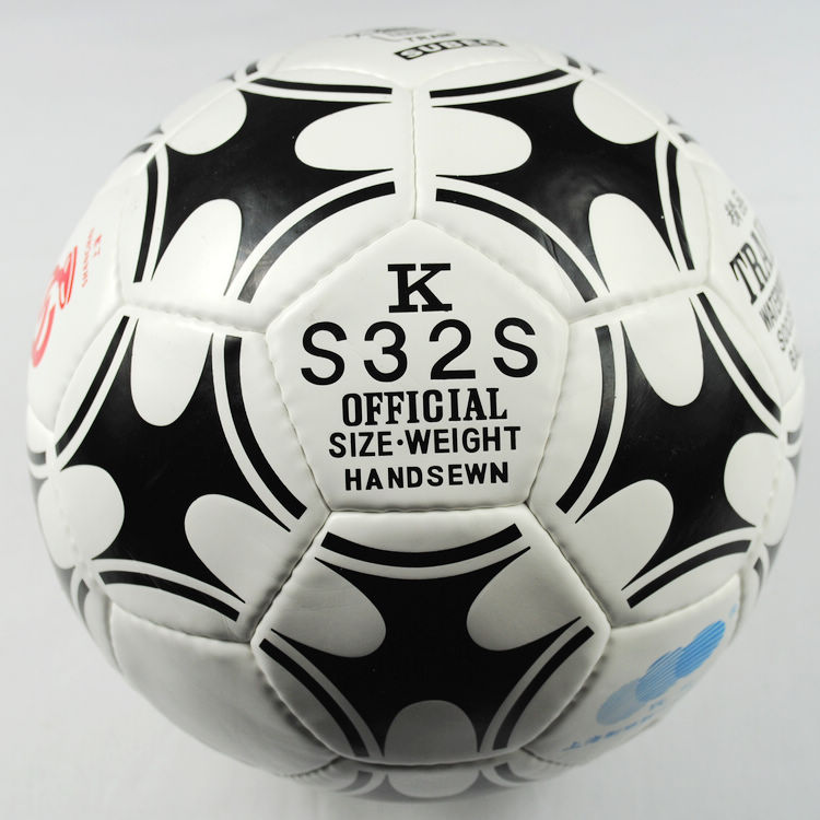 Locomotive football ks32s boutique sew on 5 football imported pu leather football needle aspiration